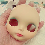 Lux - Blythe Faceup Progress