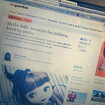 Blythe dolls in The Guardian