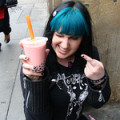 Bubble Tea! Derp face...